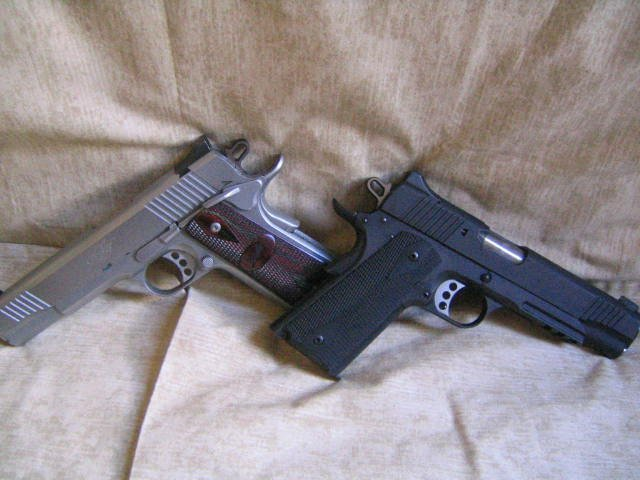 i just bought these two kimber warrior - 1911Forum