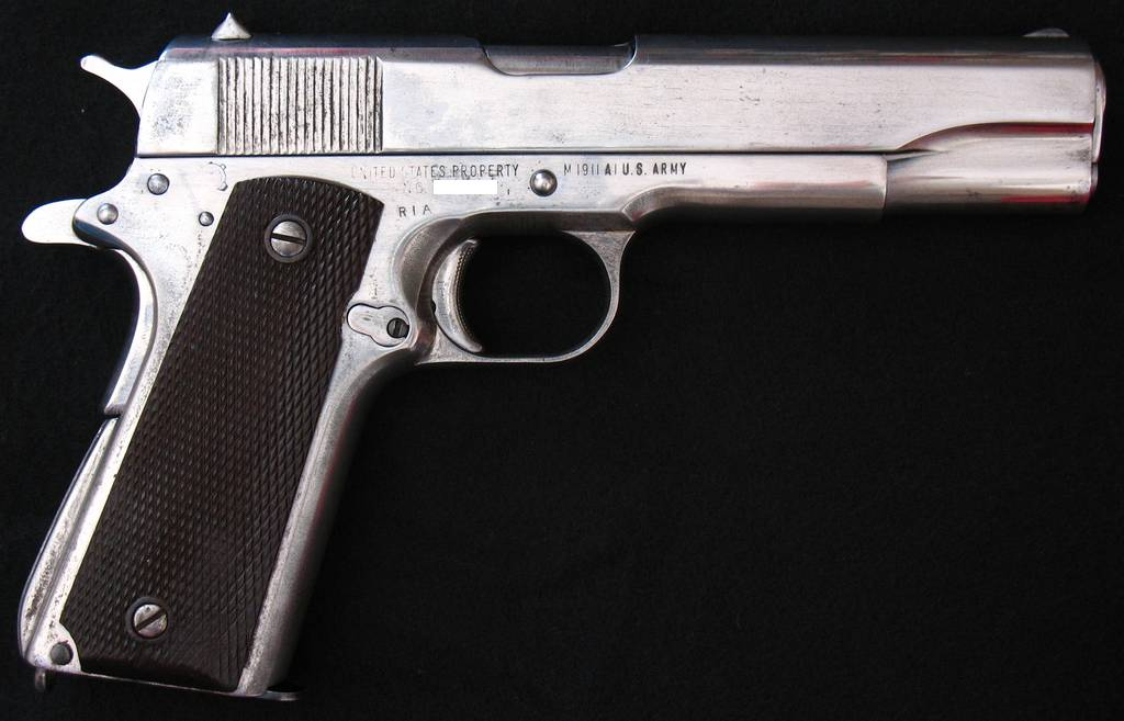 Looking for history of WWII nickel finishes - 1911Forum