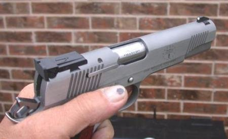1911 spits brass at face.  It hurts. - Gunsmithing Forum