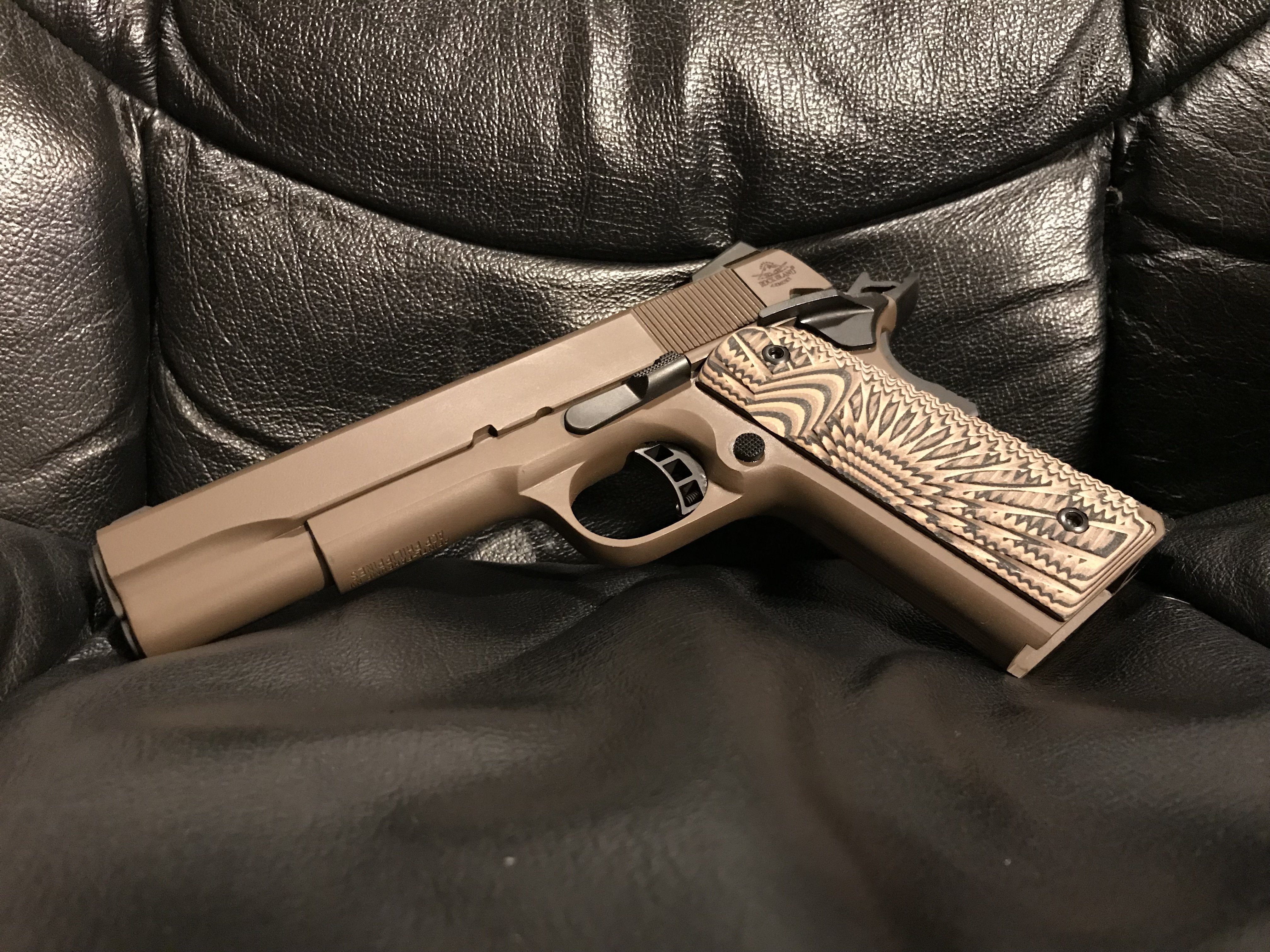 Ever seen one in Patriot Brown? - 1911Forum