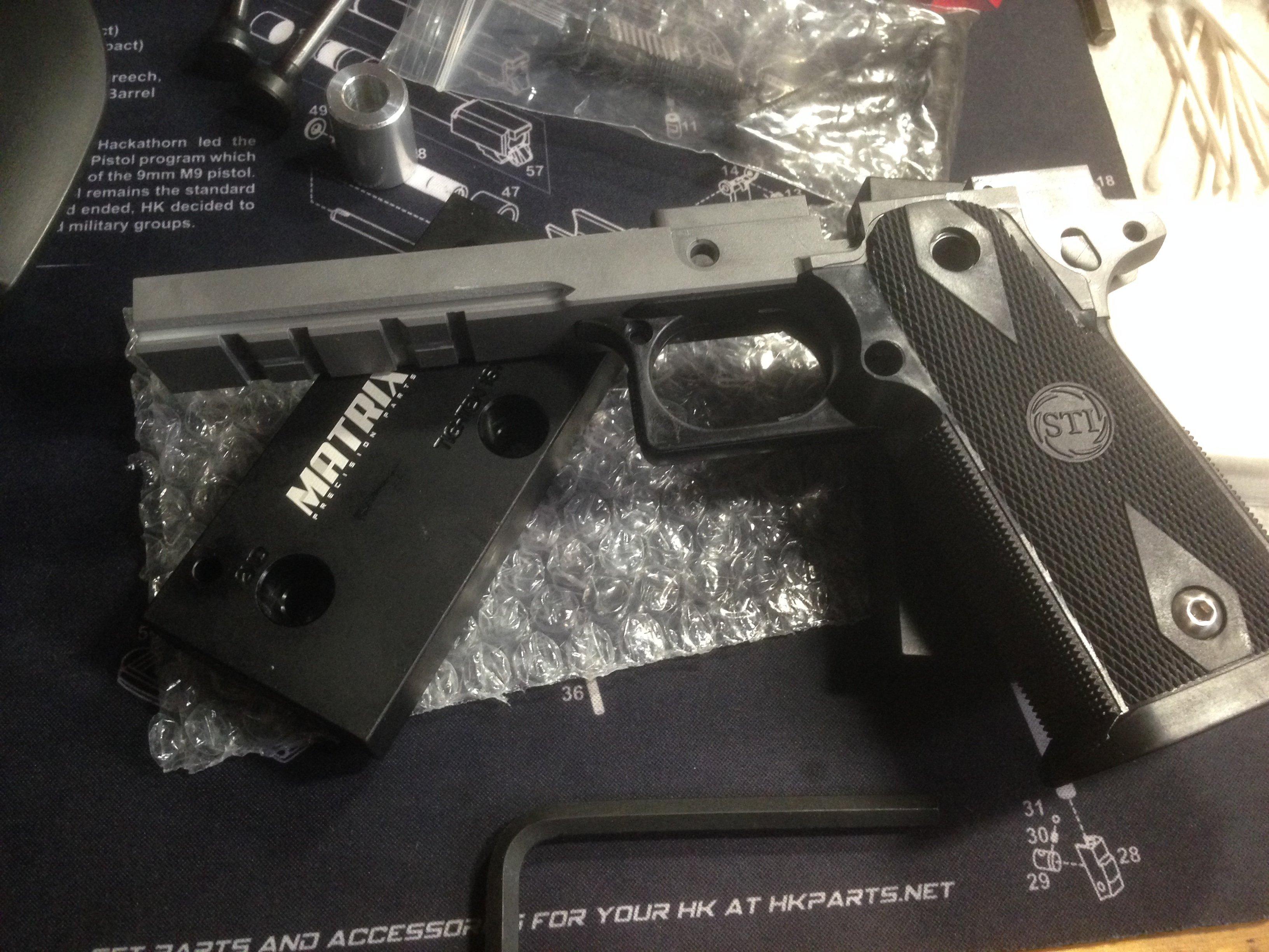 My next project: STI 2011 gun build      - 1911Forum