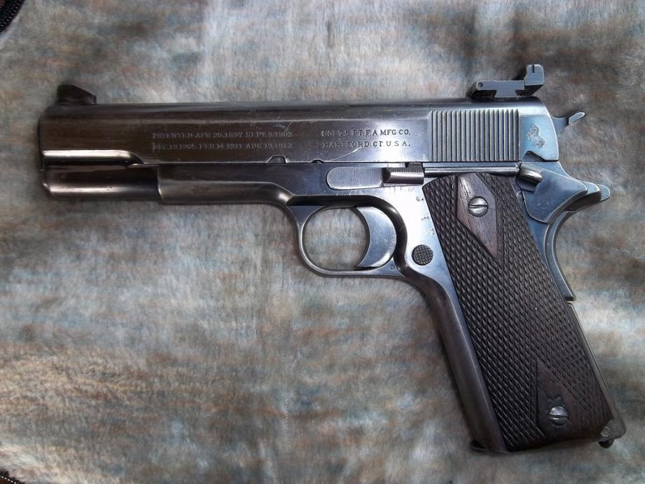 1917 Commercial with Holster- Estate Find - 1911Forum