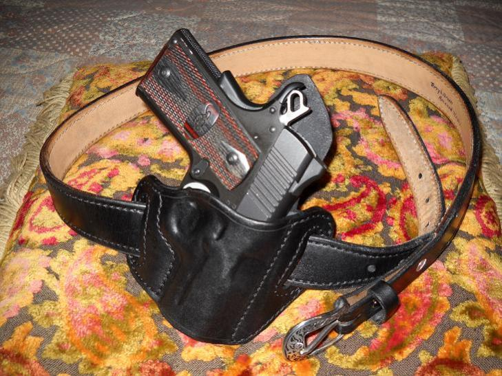 best holster to conceal carry for kimber ultra cdp II