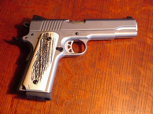 Stag Grips ??? - 1911Forum