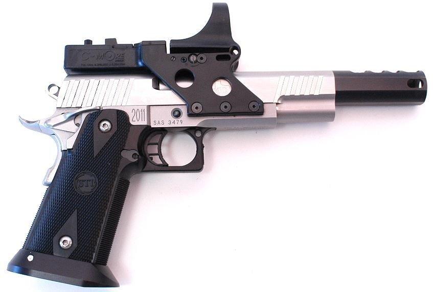 Click image for larger version  Name:STI hard chrome .45 open gun.jpg Views:708 Size:77.3 KB ID:29560