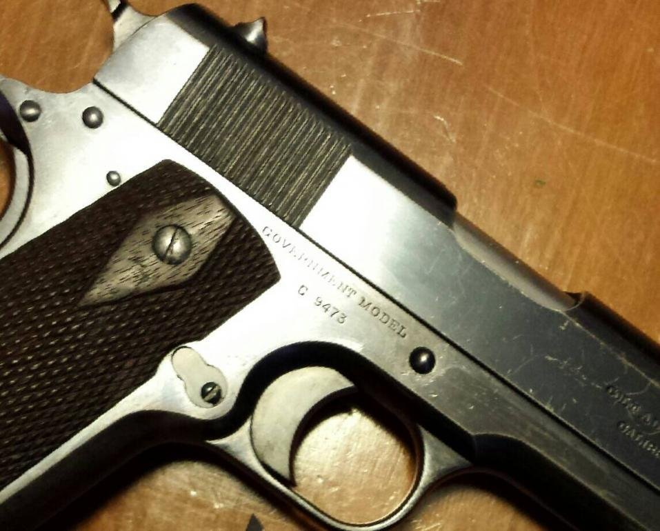 Colt 1911 Canadian Contract of 1914 - 1911Forum
